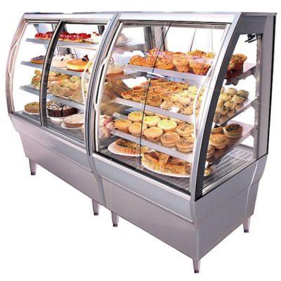 SIMS 4000 curved food display fridge