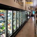 Supermarket Food Refrigeration Food Freezers